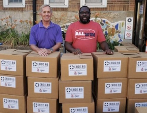 "Big League Impact supports Crisis Aid's ""Community Helping Community"" Initiative in St. Louis, Missouri"